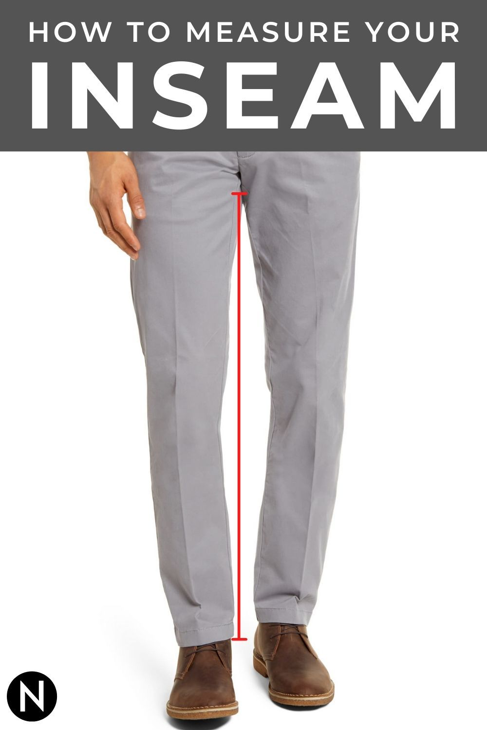 How To Measure Your Inseam In 2020 Inseam Mens Pants How To Measure Yourself