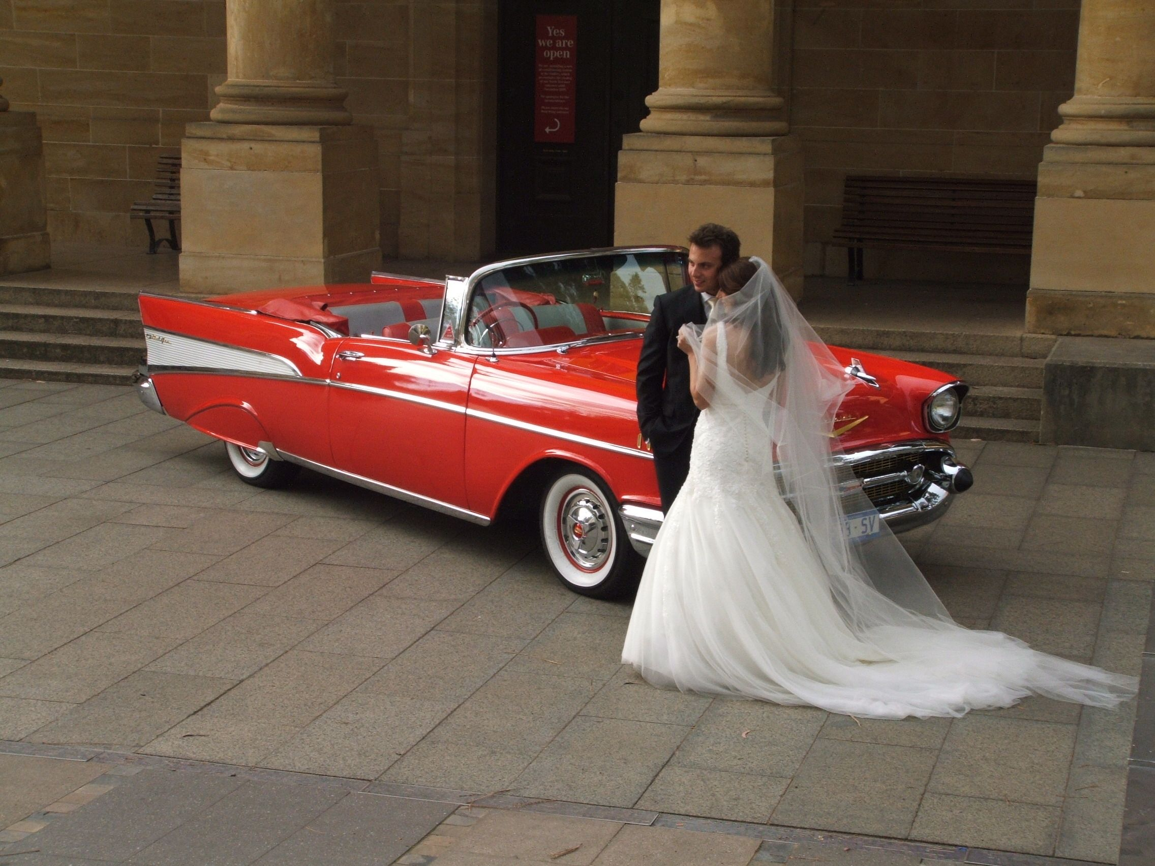 Adelaide Chevy Hire wow! imagine this car on your wedding day.