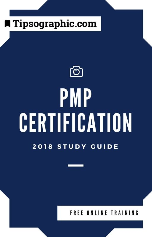 Pmp Certification 2018 Study Guide Free Online Training Based On