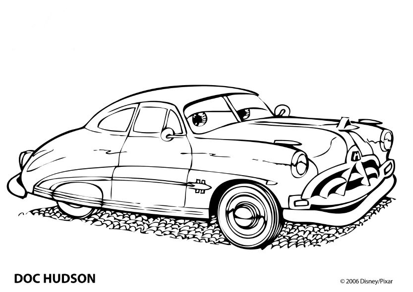 cars coloring page | Coloring pages » Cars Coloring pages | Coloring ...