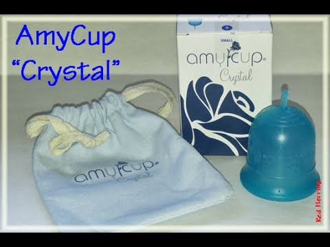 Amycup Crystal Menstrual Cup Information Youtube Menstrual