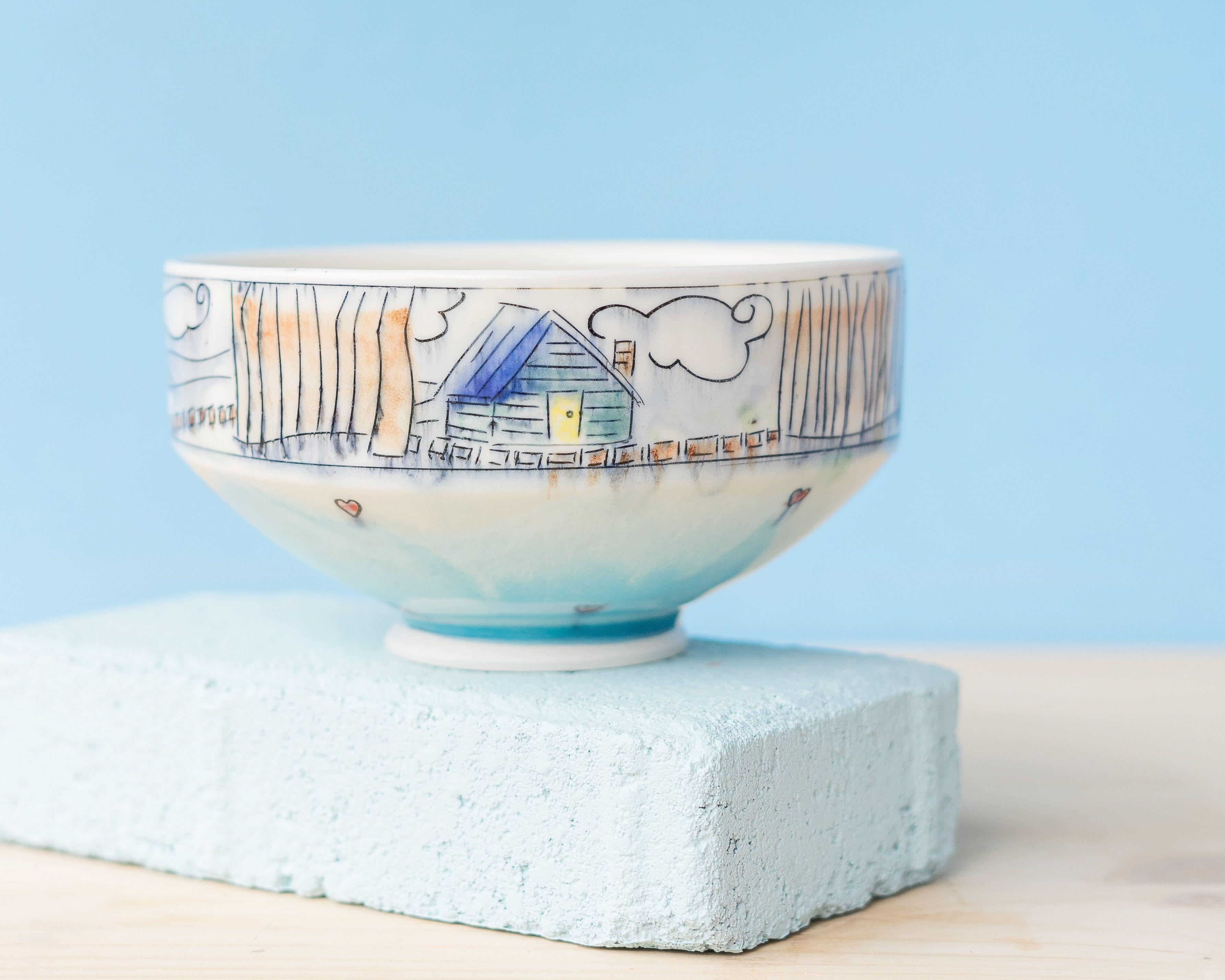 🌟🌸💓 . . . .  #lauriecaffery #handmade #pottery #instapottery #design #mug #handmademug #makersmovement #handsandhustle #potteryvideo #potteryvideos #ashevilleartist #potteryforall #etsy #etsyshop #potterygirl #ceramics #camping #ncmaker