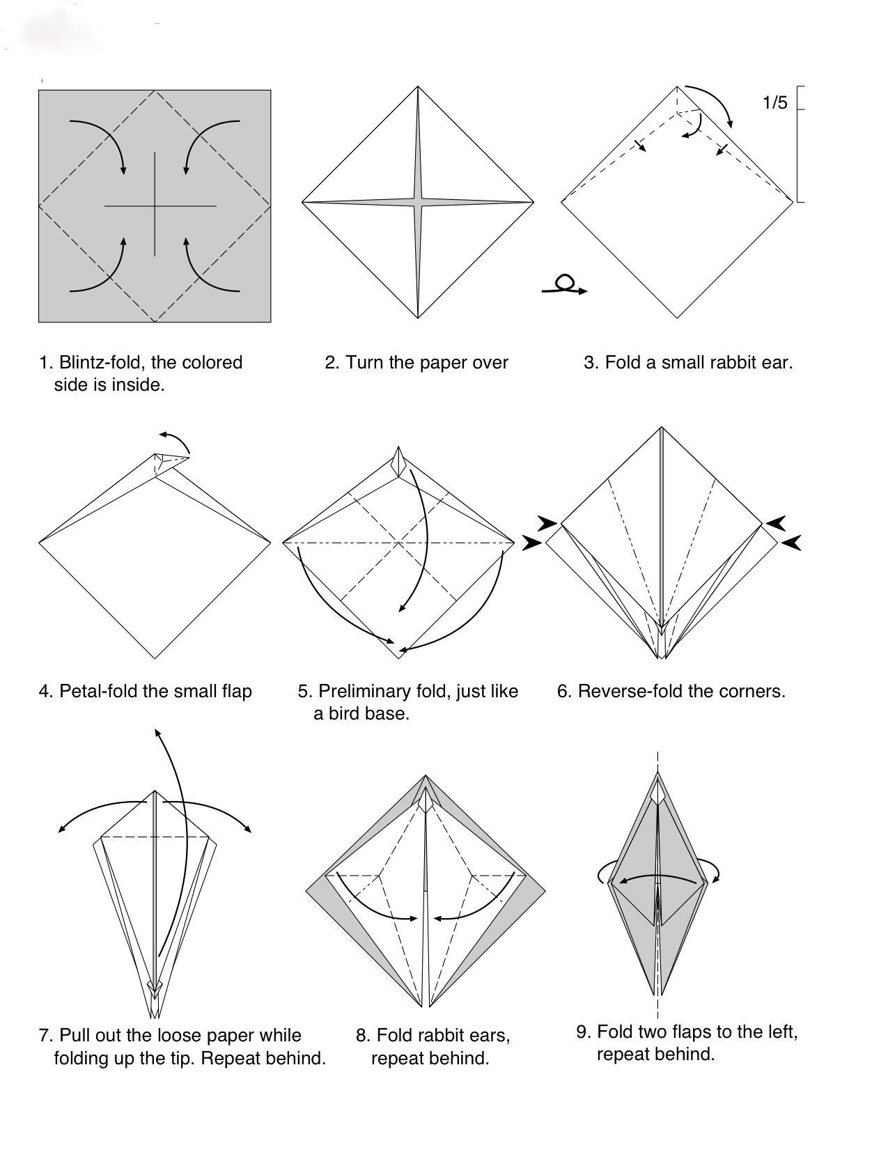 Dragon Facile En Origami Pliages Japonais