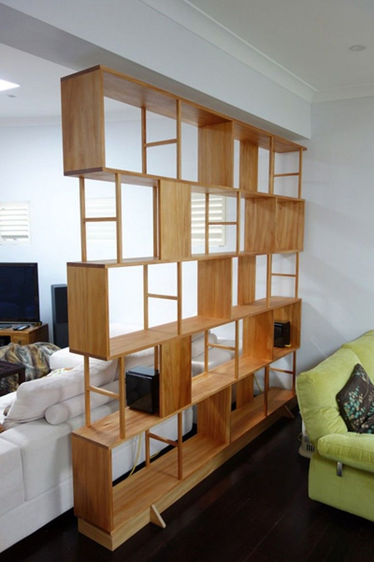 81+ Unbelievable Room Dividers and Separators With Selves Design images