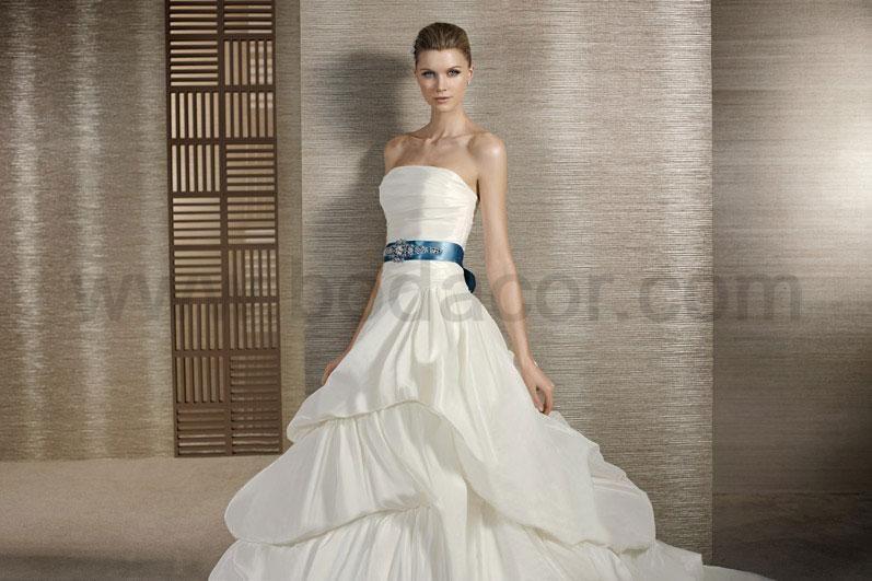 colección secret, vestidos de novia. pelegrin y tardío mod tornado