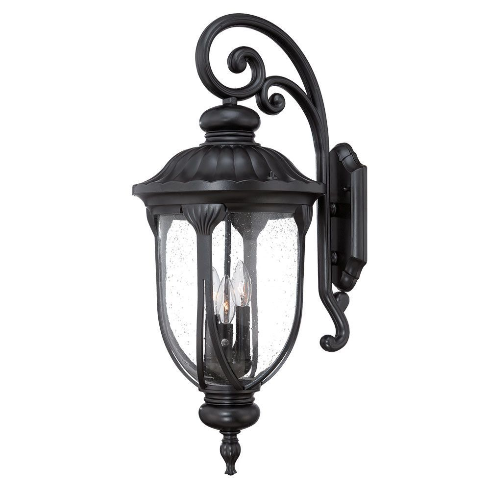 Laurens 3 Light Outdoor Wall Lantern