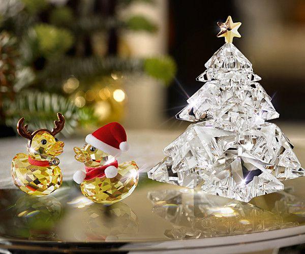 Swarovski Decorazioni Natalizie.Swarovski Christmas Tree Shining Star Alberi Di Natale Natale Addobbo