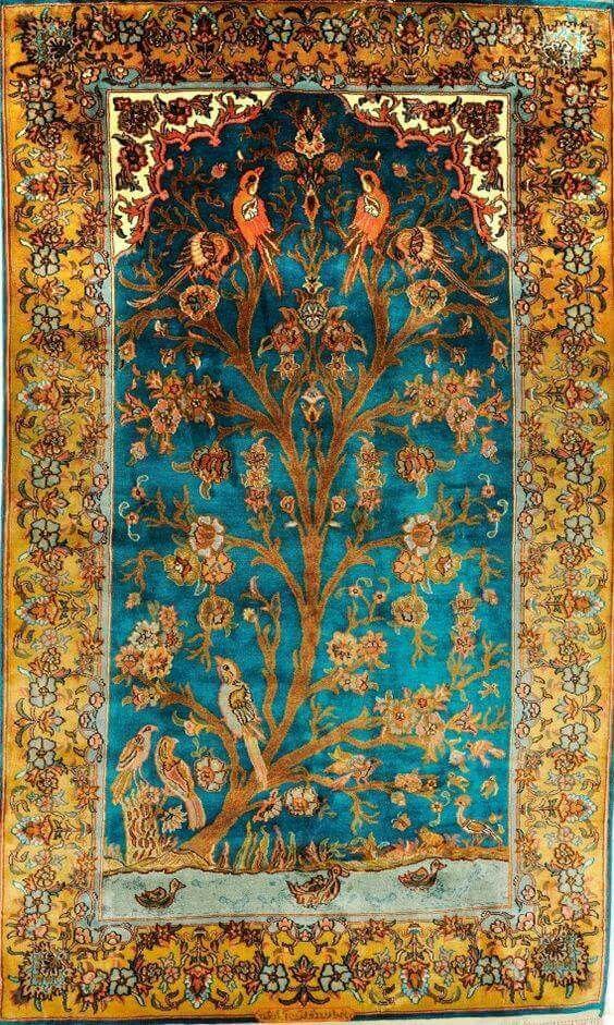 Beautiful persian carpet...                                                                                                                                                                                 More