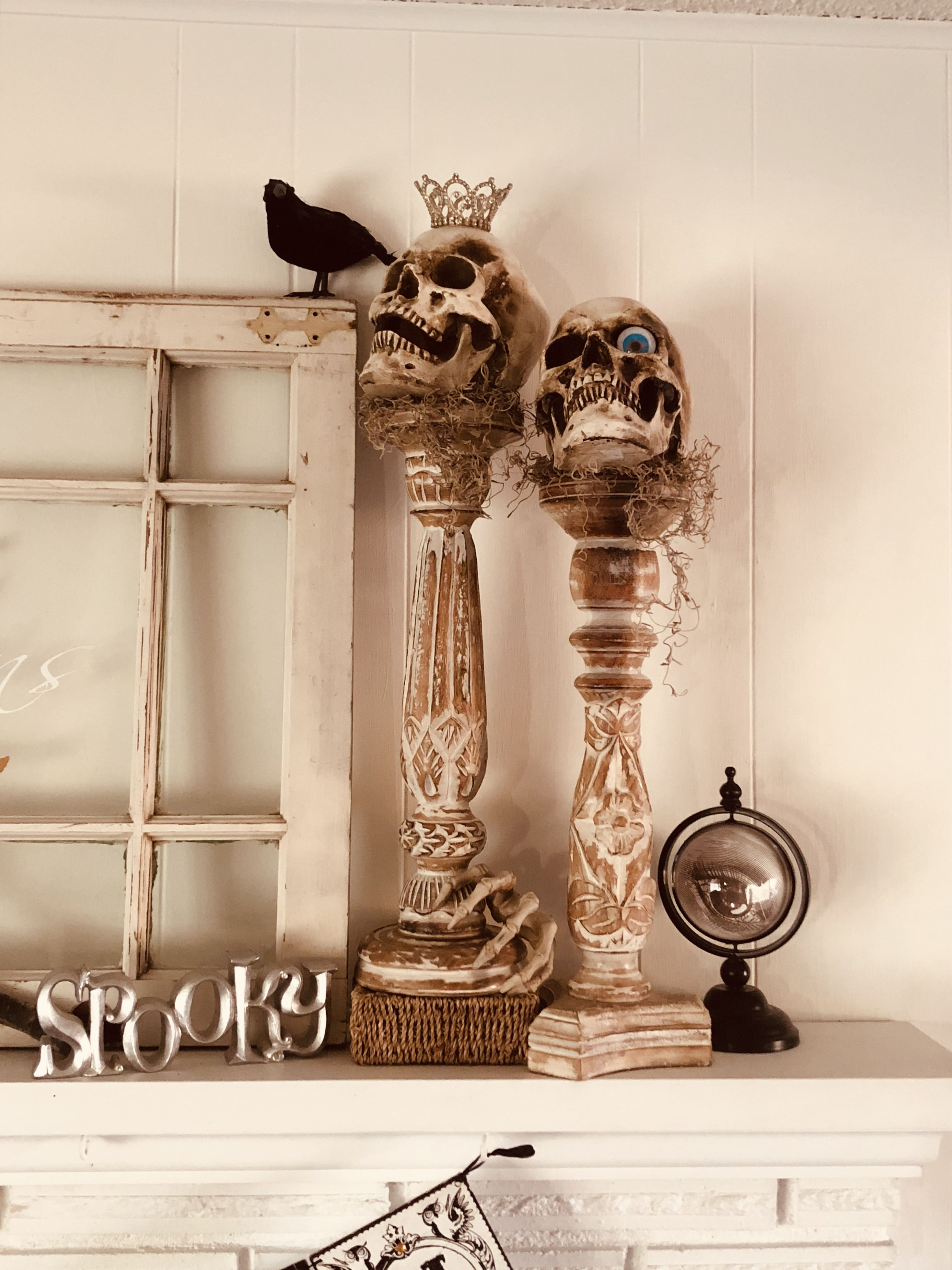 Halloween decor   Halloween decorations, Decor, Candle sconces on Decorative Wall Sconces Candle Holders Centerpieces Ebay id=94993