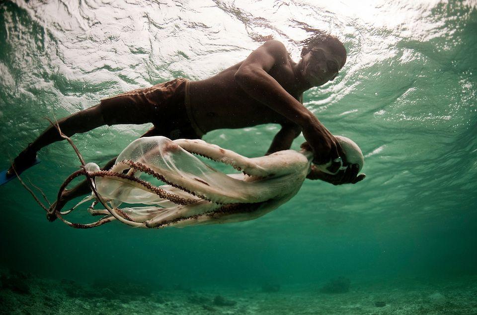 the bajau laut, sea nomads, indonesia