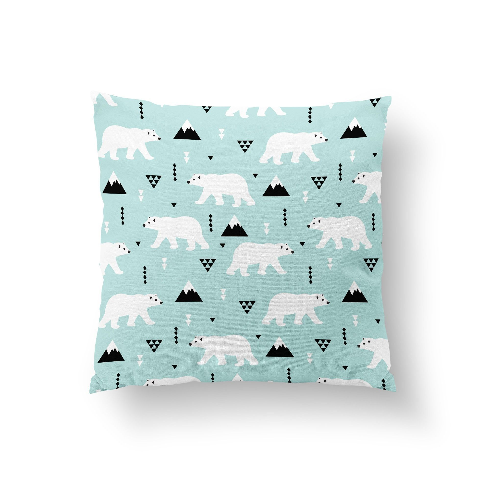 Polar Bear Throw Pillow : Polar Bear Throw Pillow Reese s VT bedroom Pinterest Polar bear, Throw pillows and Pillows