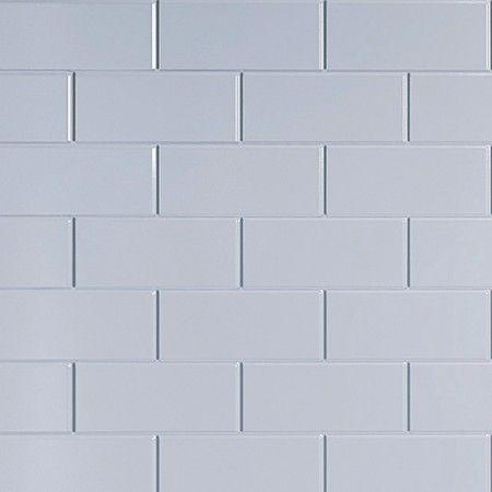 multipanel white vertical brick tile 2440mm x 1220mm