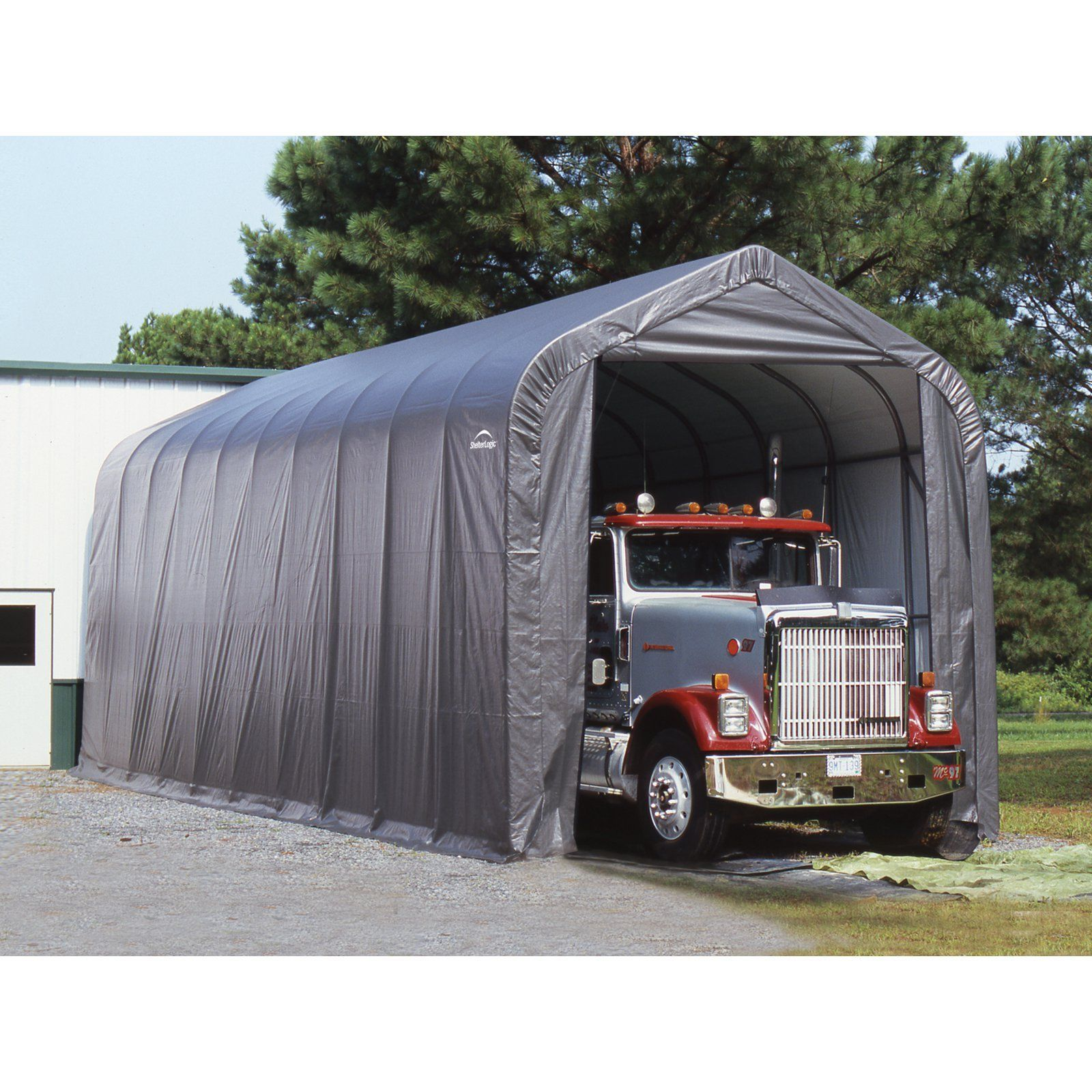 ShelterLogic 15 x 20 x 12 ft. Peak Frame Garage Shelter