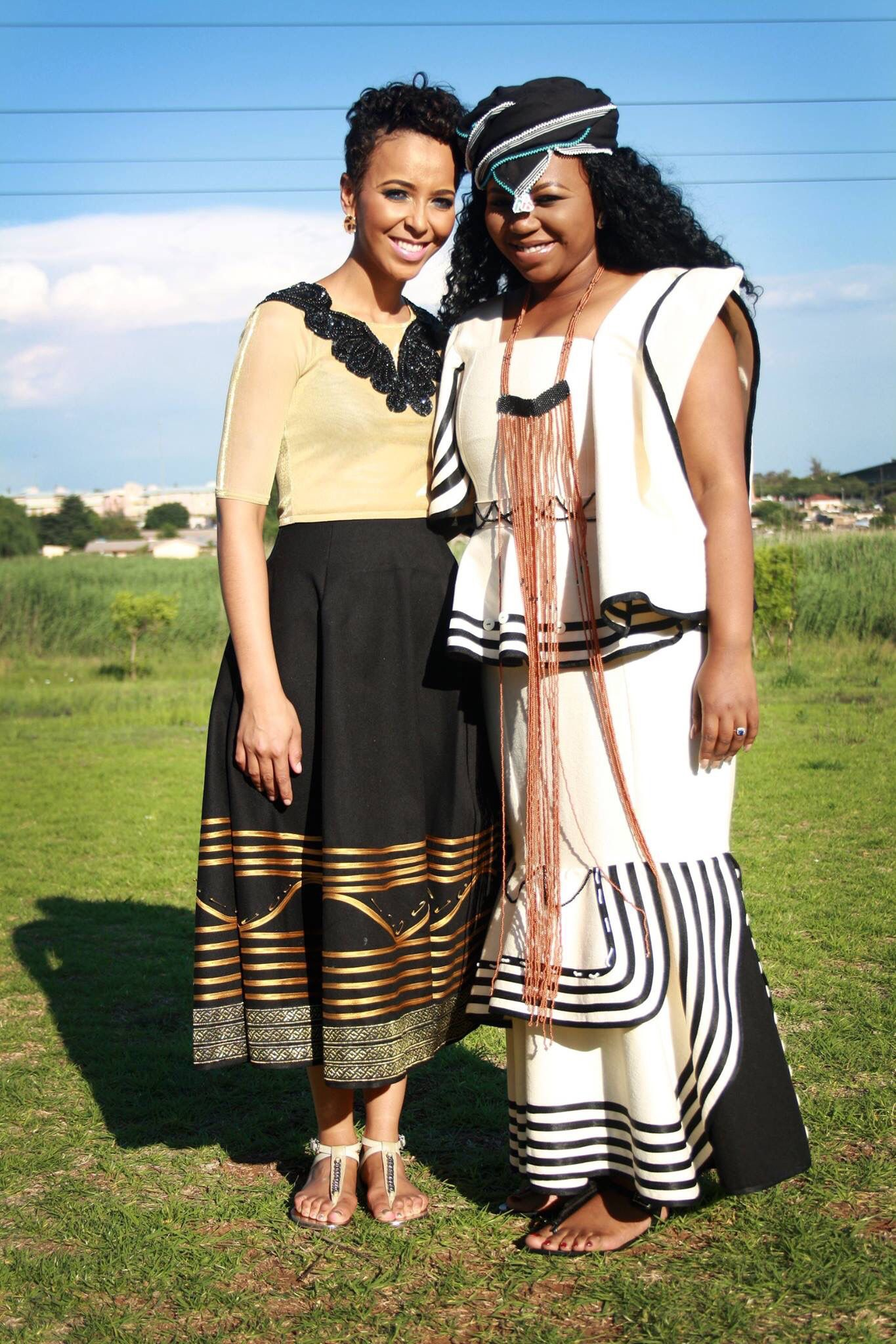 the traditional ensembles i did for a traditional xhosa