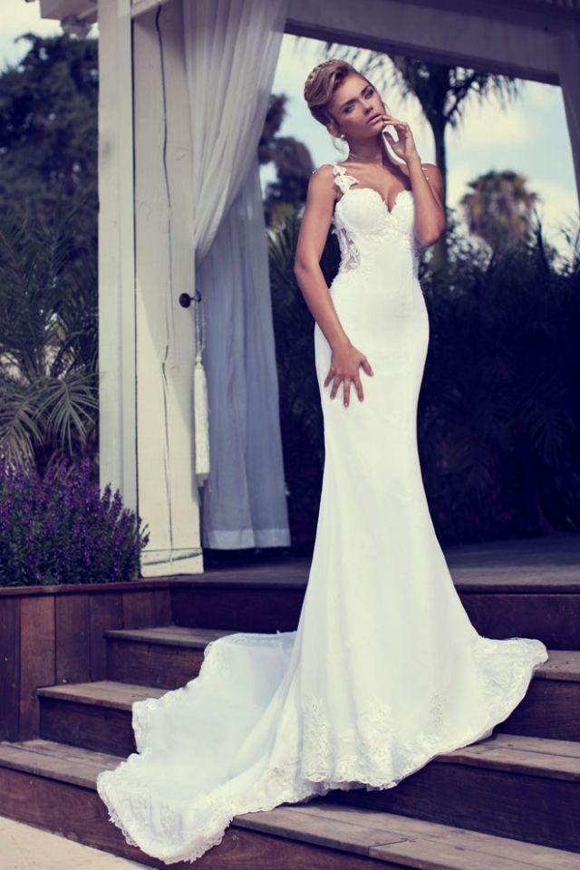 Designer-Brautkleider 2014 - 27 traumhafte Modelle von Nurit Hen ...