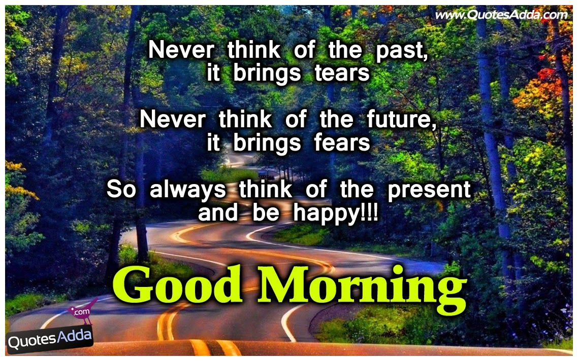 Good Morning Wallpapers With Quotations Quotesaddacom Telugu