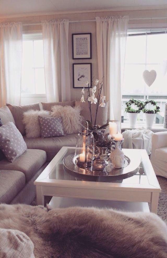 Always Grey White Chic Living Room Living Room Designs Home Decor