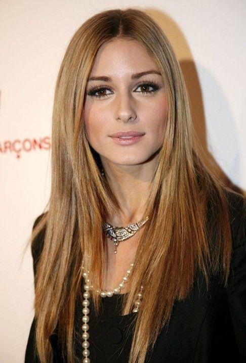 Olivia Palermo Haircut Long Straight Hair Frisuren Haarschnitt