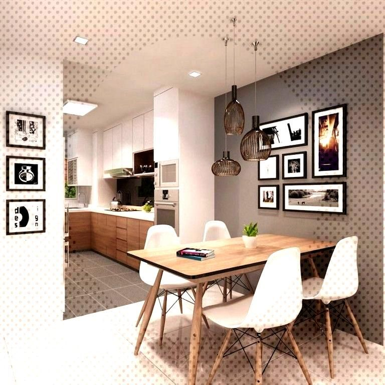 15+ Cozy Small and Clean First Apartment Dining Room Ideas