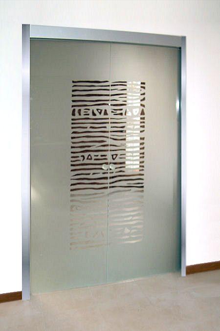 porte scorrevoli in vetro - Cerca con Google | porte scorrevoli ...