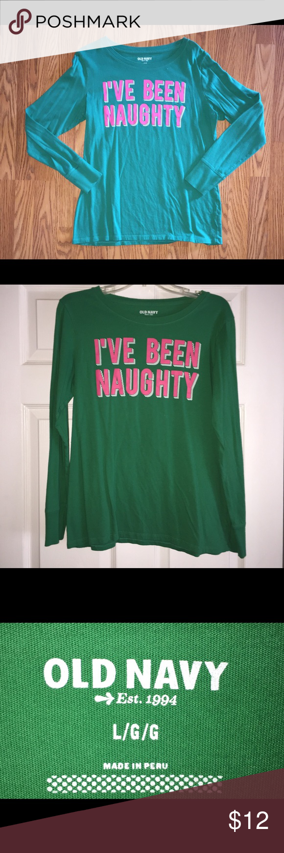 Old Navy Christmas Shirt