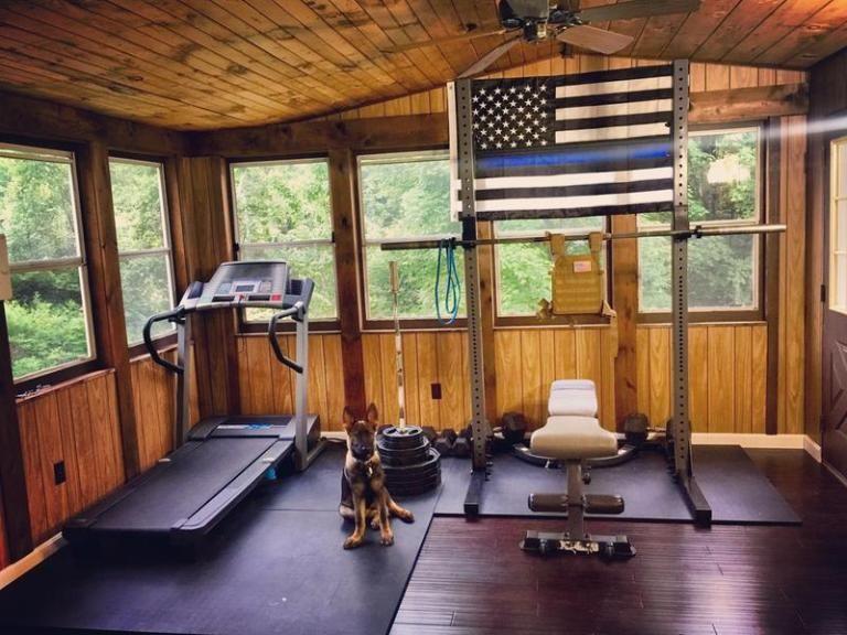 The ultimate budget home gym gym home gym garage at
