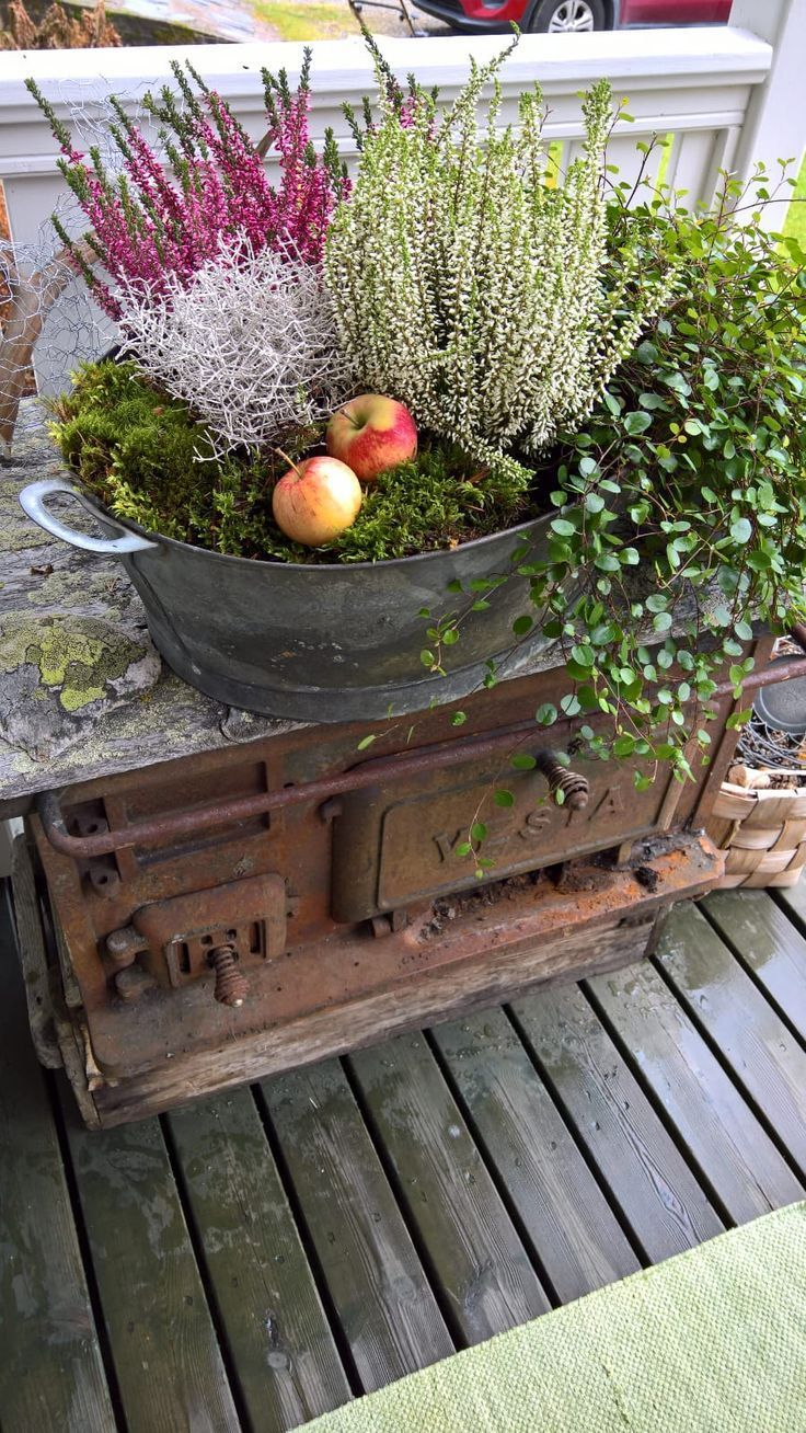 Photo of fall decorate – garden autumn idea