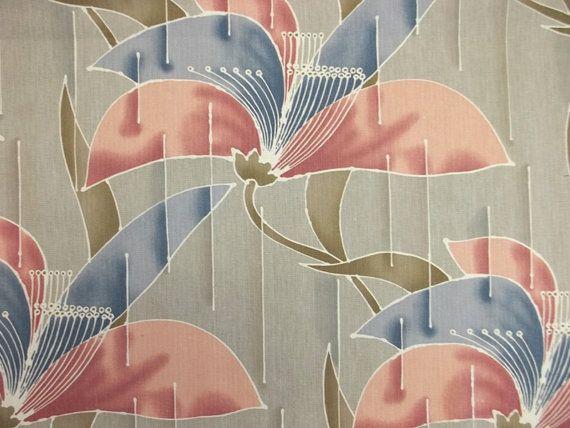 Art Deco Floral Print