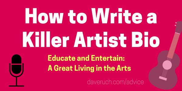 How to Write a Killer Musician Bio (With Examples) in 2019