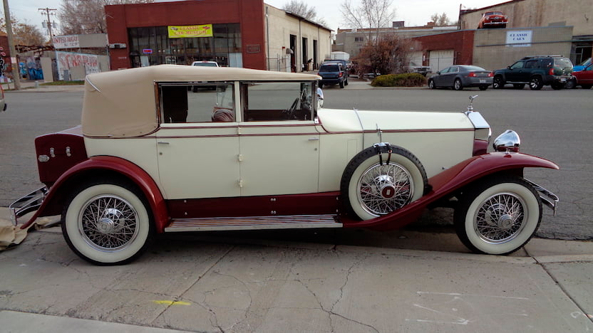 Photo of 1929 Rolls-Royce Phantom I Convertible Sedan | F129 | Las Vegas 2020 | Mecum Auctions