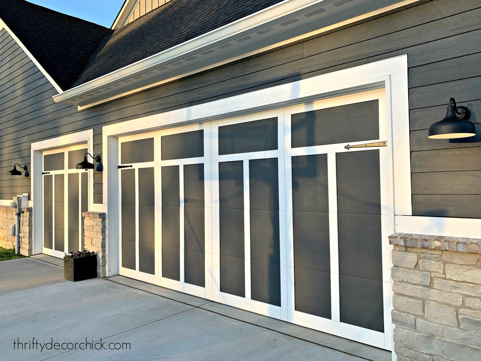 Easy Garage Door Updates That Add Tons Of Character In 2020 Garage Door Update Garage Doors Garage Door Design