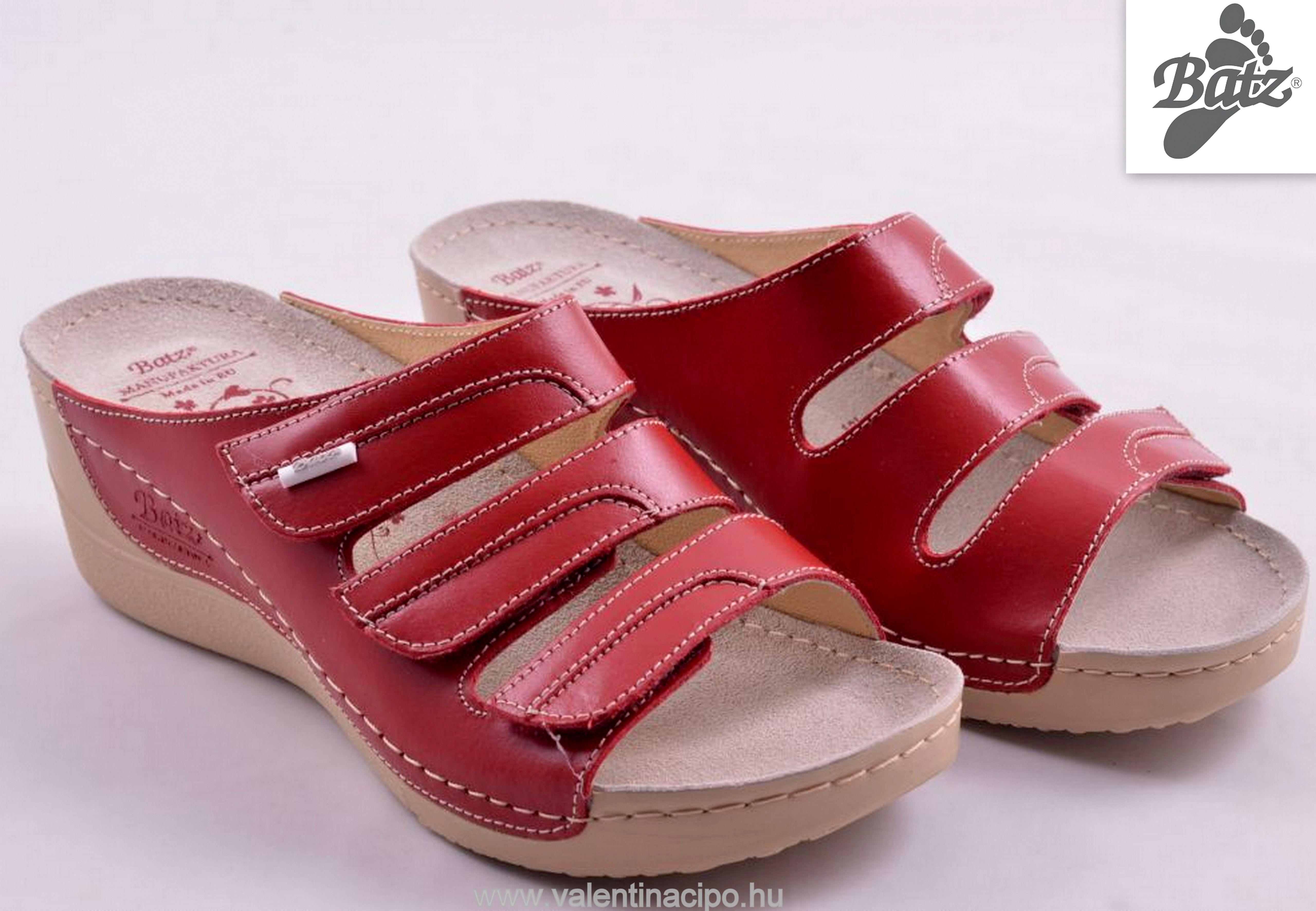 a66a770329 Batz Olga női papucs piros színben is a Valentina Cipőboltokban és  Webáruházunkban :) http: