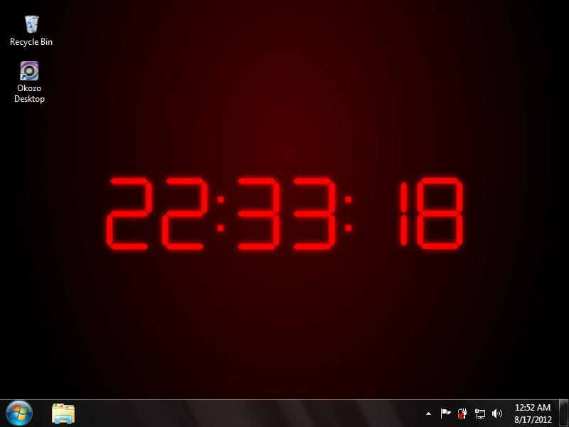 clock desktop wallpaper wallpapersafari desktop wallpaper
