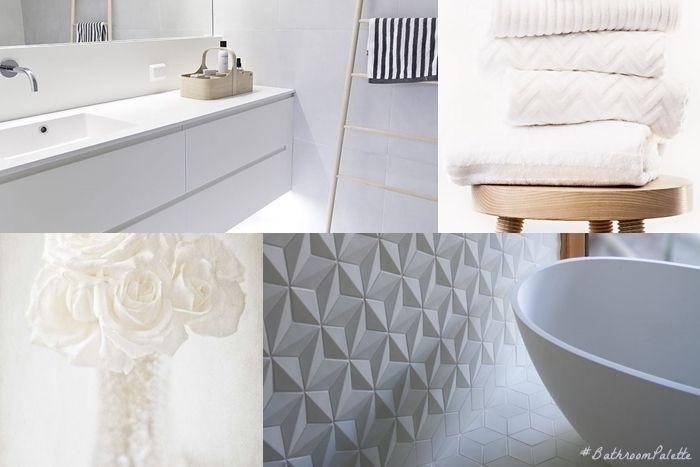 Bagno Bianco ~ Bathroom palette #4: pure white il bagno bianco bagni dal mondo