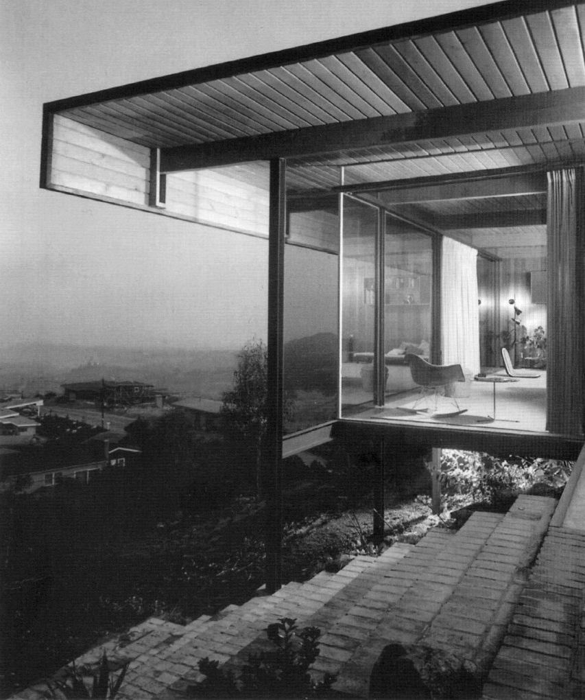 jonasgrossmann: craig ellwood… johnson residence, brentwood (1953)