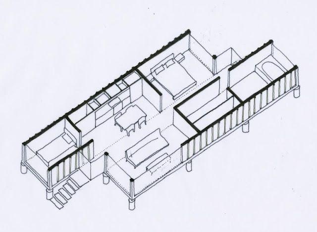 Genial Versandbehälter Zu Hause Mit Zwei 40 Fuß  Container9Container Haus |  Container Haus
