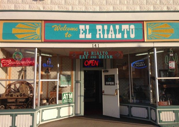 The Entrance To El Rialto Las Vegas Nm Wher Locals Go For Their New Mexican Cuisine Including Very Hot Green Chile Photo Steve Collins