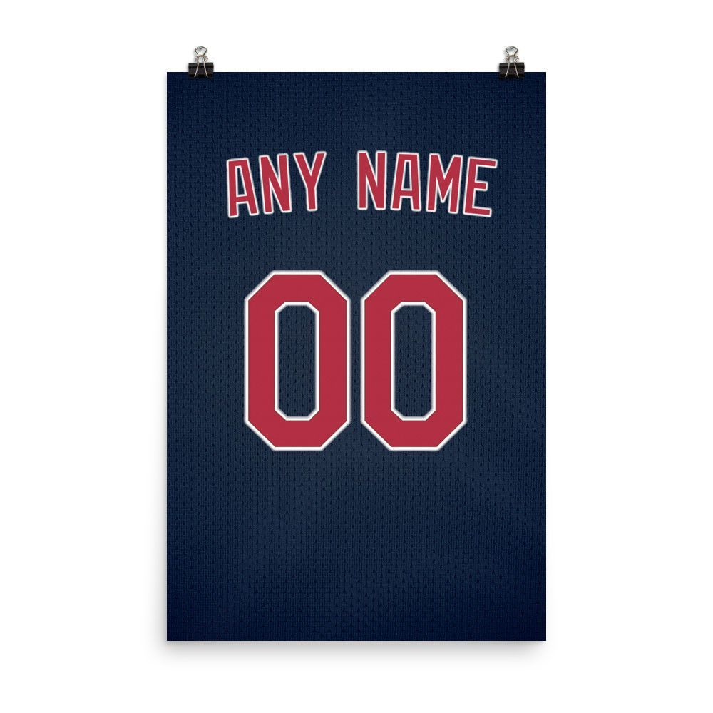 Custom Personalized Cleveland Indians Poster By Pixartsy Poster