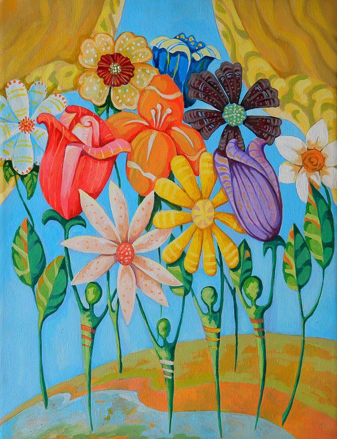 Unity In Diversity Canvas Print / Canvas Art by Shahram ...