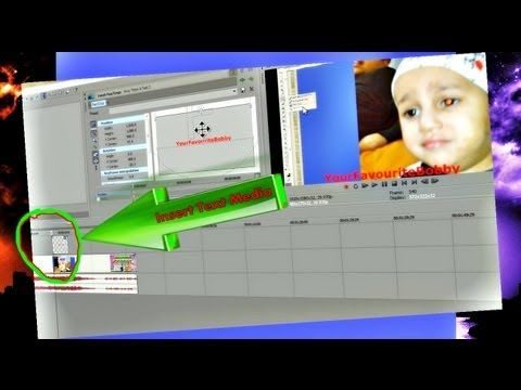 How to Create Picture in Picture Video FX using Sony Vegas ...