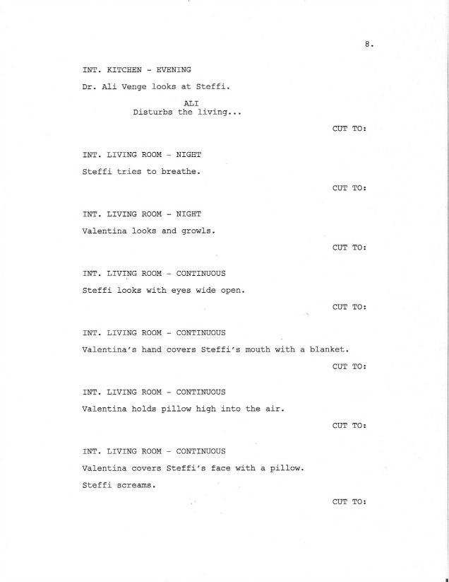 page 8 of royal love story from the grave sample screenplay