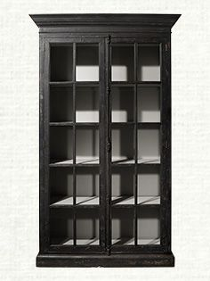 Chorus Theory 54 Cabinet With Gl Doors In Rustic Black