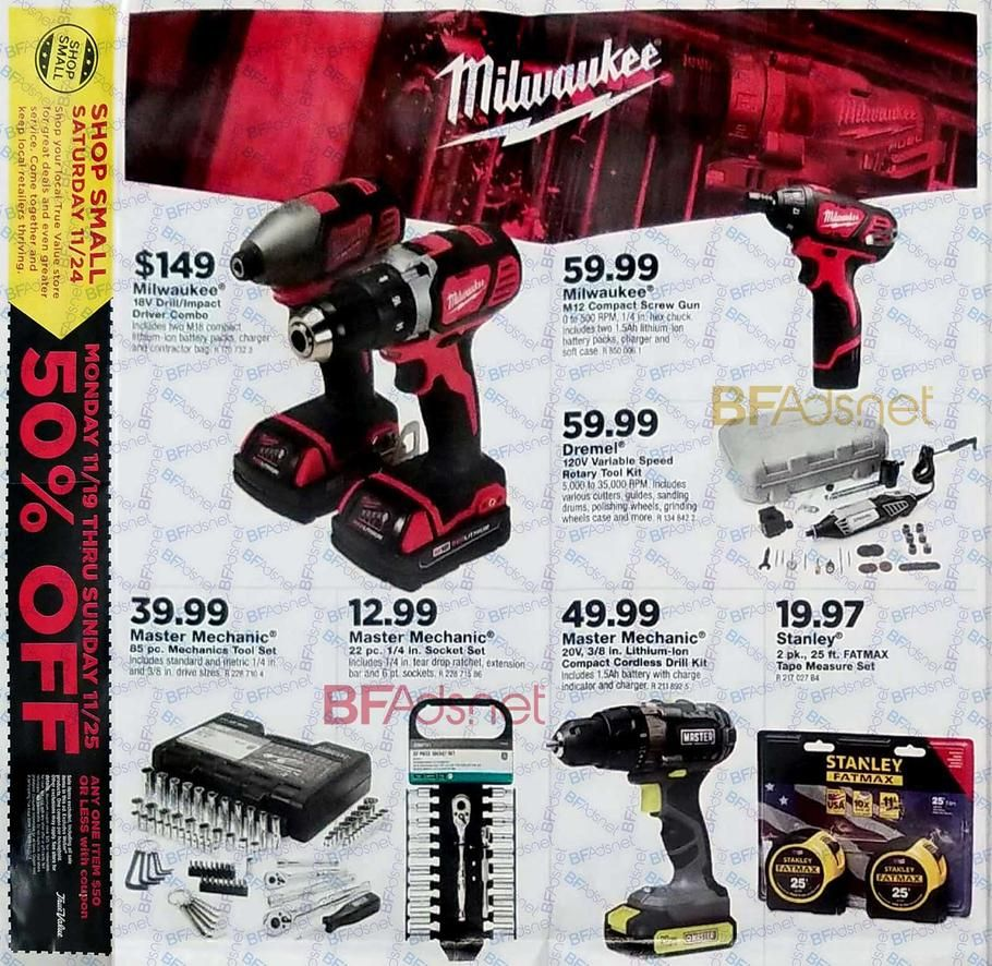 True Value Black Friday 2018 Ad Scan, Deals and Sales he