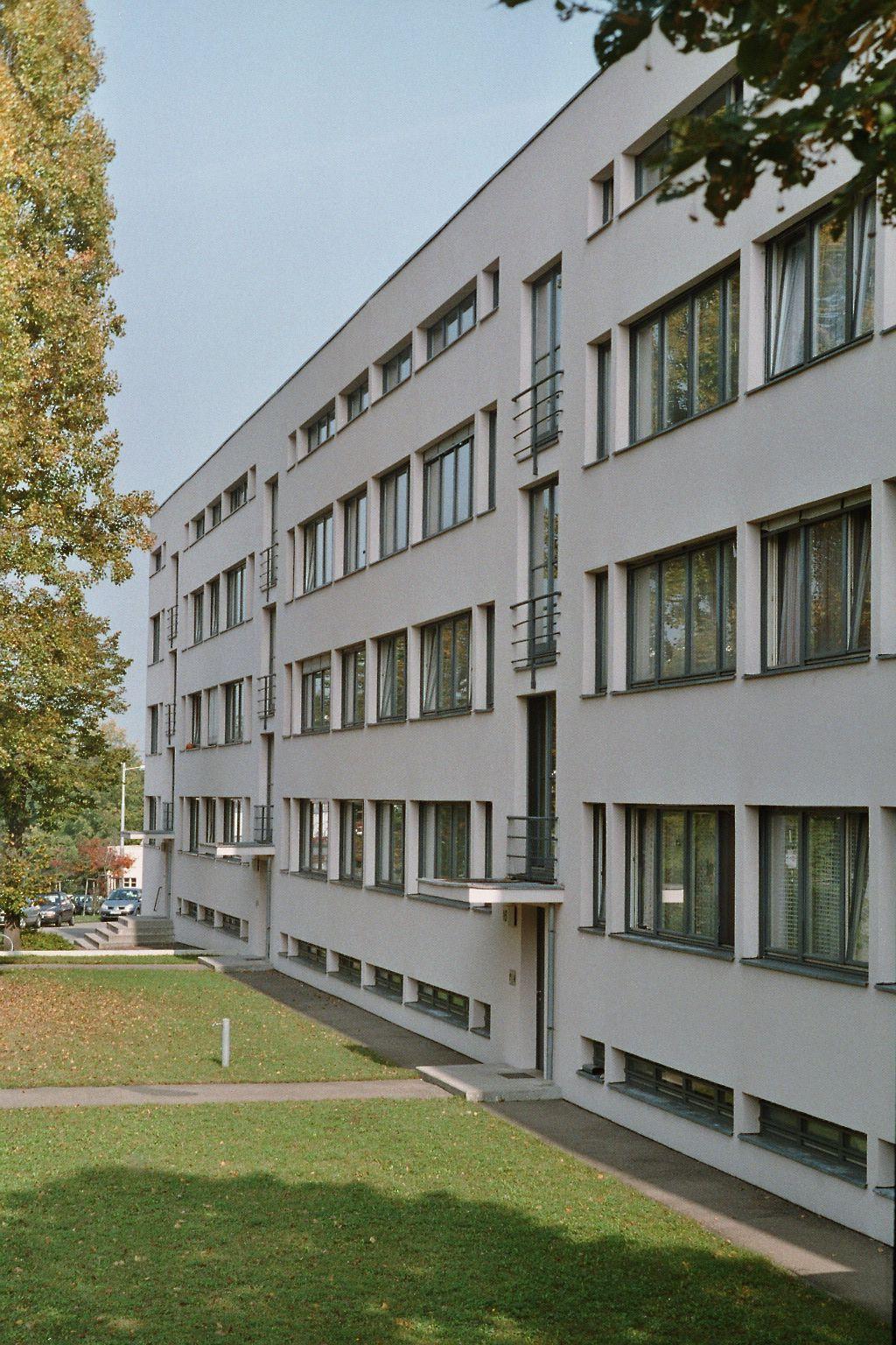 Weissenhof Siedlung Stuttgart Germany Am 14 20 Designed By Ludwig Mies Van Der Rohe