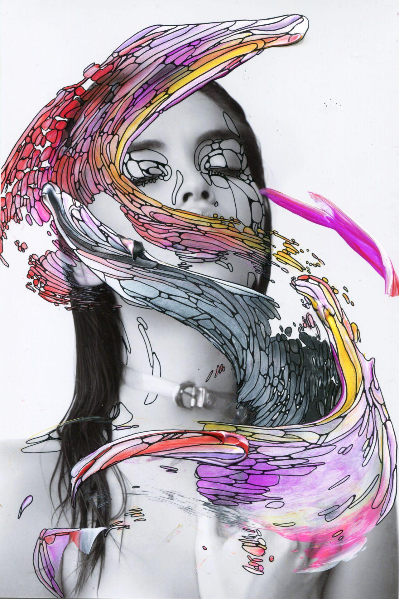 Alana Dee Haynes x Antonella Artismendi Kristina imagine replacing swirl with a swirl of universe