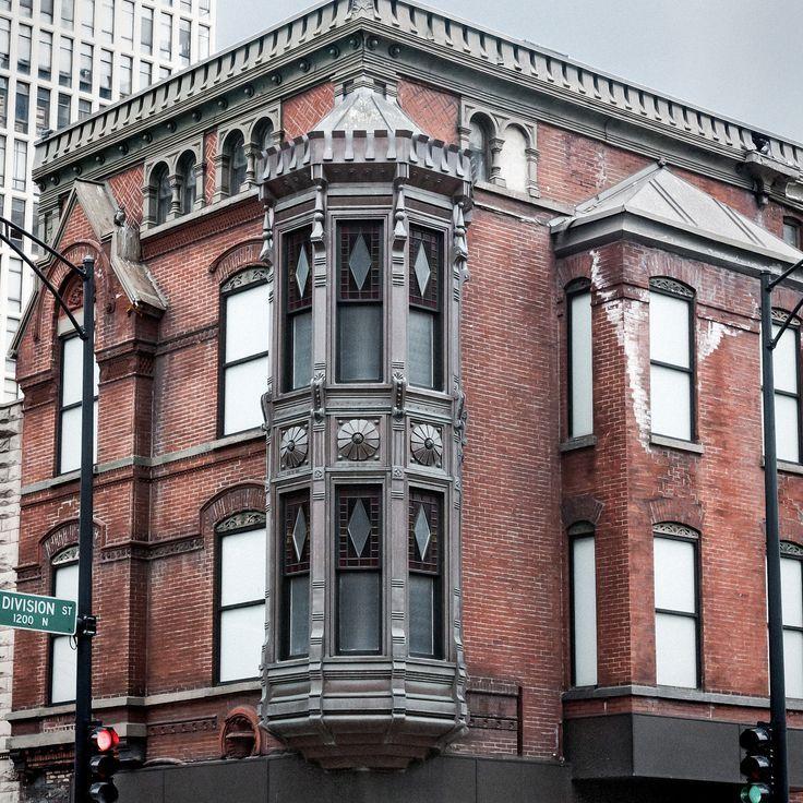 Scherer Building (1886), Corner Turret, 1201 N State St