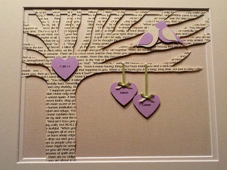 Personalized map art print intertwining hearts custom map artwork