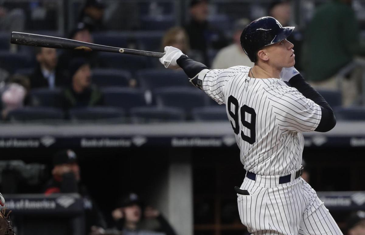 aaron judge career home runs