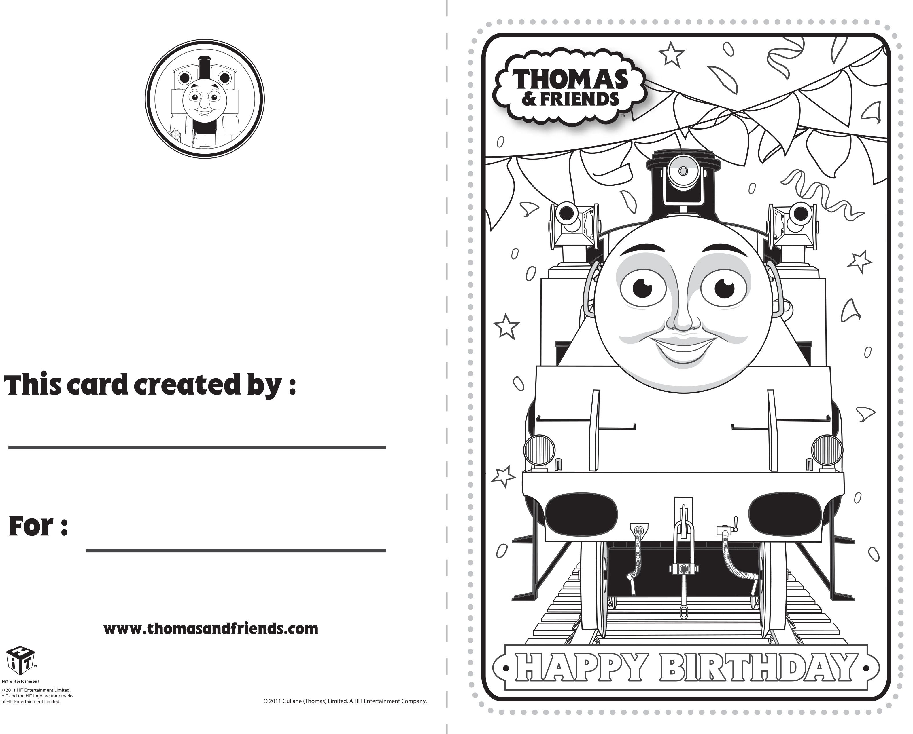 Thomas And Friends Birthday Card Belle Thomasandfriends Birthdaycard Printable Birthday Cards For Friends Thomas And Friends Friend Birthday