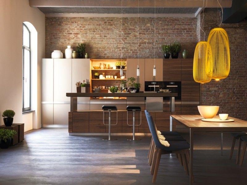 Die höhenverstellbarer Arbeitsplatte der k7 Küche des - team 7 küche